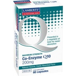 Lamberts Co-Enzyme Q10 200mg 60 caps