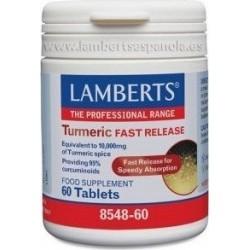 Lamberts Turmeric Fast Release 200mg 60Tabs