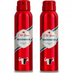 Old Spice Whitewater Deodorant Body Spray 2*150ml...