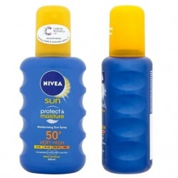 Nivea Sun Protect & Moisture Spray SPF50+, 200ml