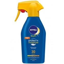 Nivea Sun Trigger Spray SPF30, Αντηλιακό/Ενυδατικό...