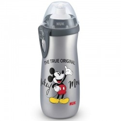 Nuk Παγουράκι Sports Cup Mickey με Καπάκι Push-pull...