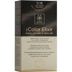 Apivita My Color Elixir Μόνιμη Βαφή Μαλλιών 5.18...