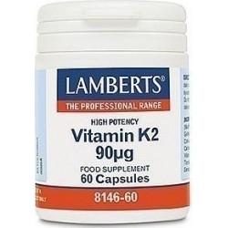 Lamberts Vitamin K2 90mg 60caps