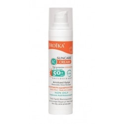 Froika AC Suncare Cream SPF50+ Αδιάβροχη Αντηλιακή...