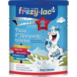 Frezylac Silver 2 Αγνό Αγελαδινό Γάλα από τον 6ο ως...