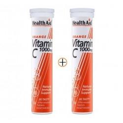 Health Aid Vitamin C Βιταμίνη C με Γεύση Πορτοκάλι...