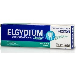 Elgydium Junior Toothpaste Gel Mild Mint 50ml