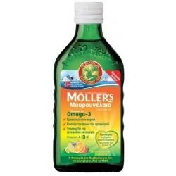 Moller's Cod Liver Oil Υγρό Μουρουνέλαιο με...