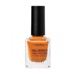 Korres Gel Effect Nail Colour Βερνίκι Νυχιών 92 Mustard