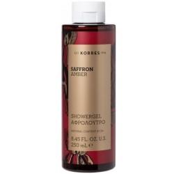 Korres Saffron Amber Shower Gel Γυναικείο Αφρόλουτρο...
