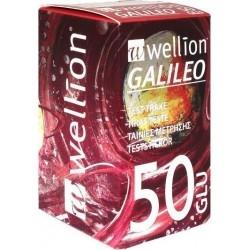 Wellion Galileo Ταινίες Μέτρησης Σακχάρου 50 τμχ