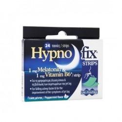 Uni-Pharma Hypno Fix Strips Συμπλήρωμα για τον Ύπνο...