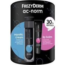 Frezyderm Set AC-Norm Aquatic Cream Ενυδατική Κρέμα...