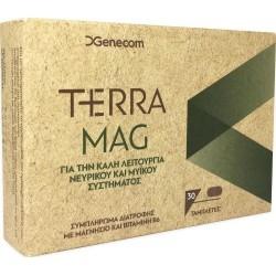 Genecom Terra Mag Συμπλήρωμα Διατροφής με Μαγνήσιο...
