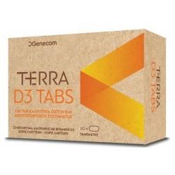 Genecom Terra D3 Tabs Συμπλήρωμα Διατροφής με...