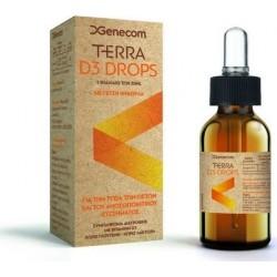 Genecom Terra D3 Drops Συμπλήρωμα Διατροφής με...