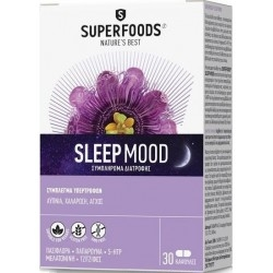 Superfoods Sleep Mood Συμπλήρωμα Διατροφής Για Την...