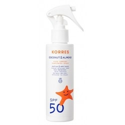 Korres Coconut & Almond Kids Sunscreen Spray...