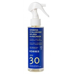 Korres Ginseng & Hyaluronic Splash Sunscreen...