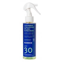 Korres Cucumber & Hyaluronic Splash Sunscreen...