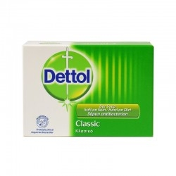 Dettol Μπάρα Σαπουνιού Classic 100g