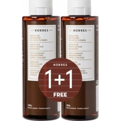 Korres Argan Oil Post-Colour Shampoo Σαμπουάν για...