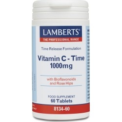 Lamberts Vitamin C Συμπλήρωμα Διατροφής Βιταμίνης C...