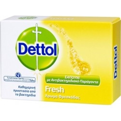 Dettol Μπάρα Σαπουνιού Fresh 100g