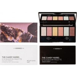 Korres Volcanic Minerals The Candy Nudes Eyeshadow...