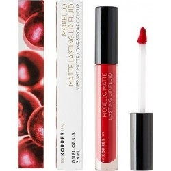 Korres Morello Matte Lasting Lip Fluid No 52 Poppy...