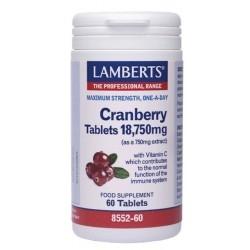Lamberts Cranberry 18,750mg Εκχύλισμα Κράνμπερυ 60Tabs